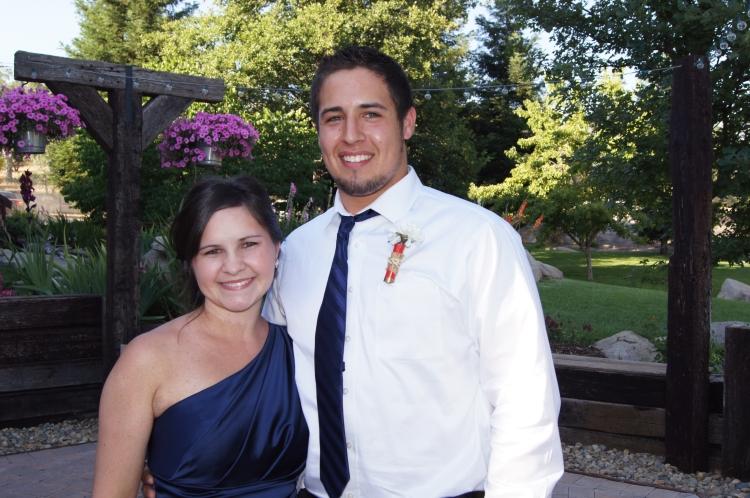 Rhea and her husband, Zach